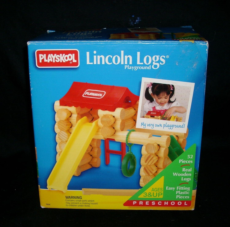 Lincoln Logs Playground - 1993 Madera Escritorio para Ordenador ...