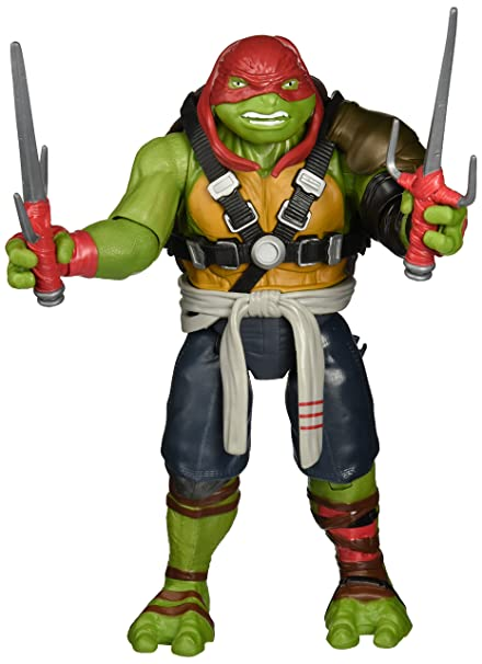 TORTUGAS MOVIE 2. FIGURA DE 28 CM RAPHAEL: Amazon.es ...