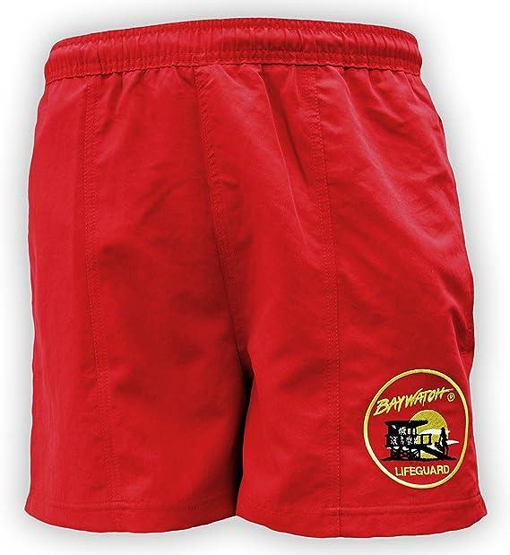Lifeguardgear Oficial Baywatch® Rojo Bañador