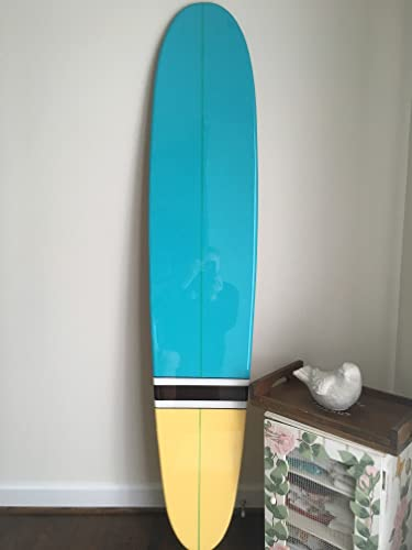 Surfboard Wall Hanging. Six Foot Old School Surfboard Wall Art.