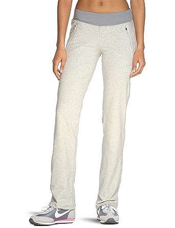 Nike Pantalones de pádel para mujer, tamaño S, color gris/heather/matte silver: Amazon.es: Ropa y accesorios