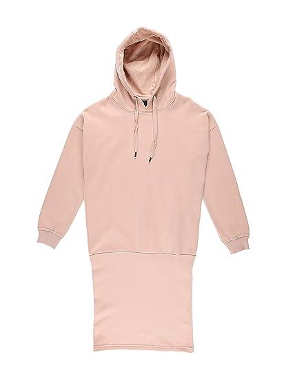 cbf65a39734cdd DEF Damen Kapuzenkleid Sweatkleid Hoodiekleid: Amazon.de: Bekleidung