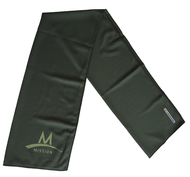 Mission Outdoor Towel Toalla con mosquetón refrigeración Toalla sudor Endura Cool