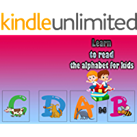 Learn to read the alphabet for kids 3-5: Preschoolers learn the letters a b c - alphabet learning sheets for beginners