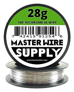 Nichrome 80 - 100' - 28 Gauge Resistance Wire