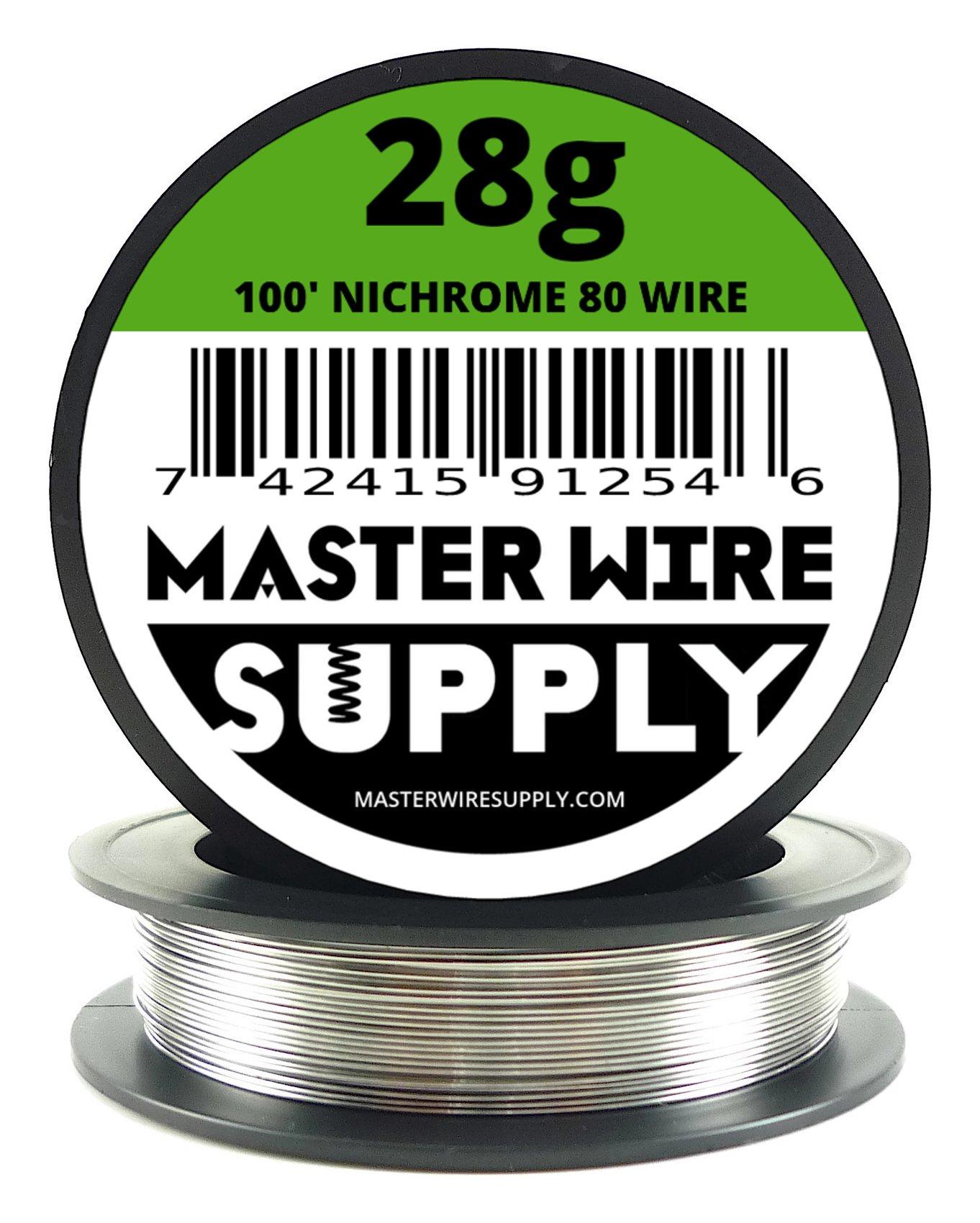 Nichrome 80-100' - 28 Gauge Resistance Wire
