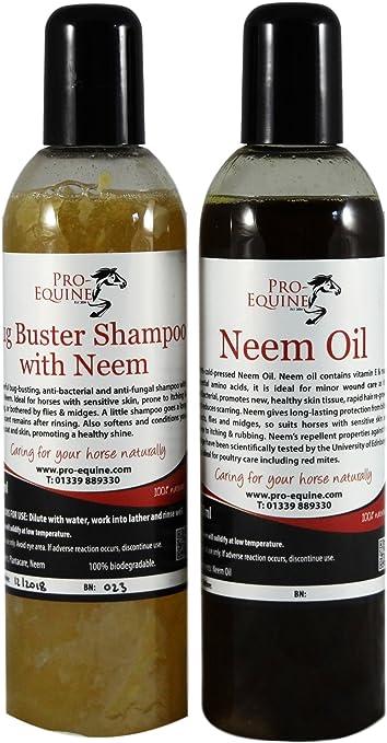 Champú Neem Oil and Bug Buster de la mejor calidad (aceite de neem ...