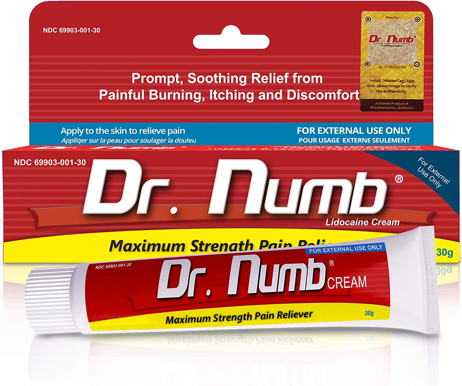 Dr. Numb - Anesthetic Numbing Cream