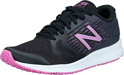 New Balance Wflshv3, Zapatillas de Running para Mujer, Negro (Black/Pink Black/Pink), 36.5 EU: Amazon.es: Zapatos y complementos