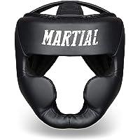Martial Casco de Boxeo con Increíble Protección de Impactos – Protector de Cabeza Boxeo Completo – Visión Ideal y Mínima…