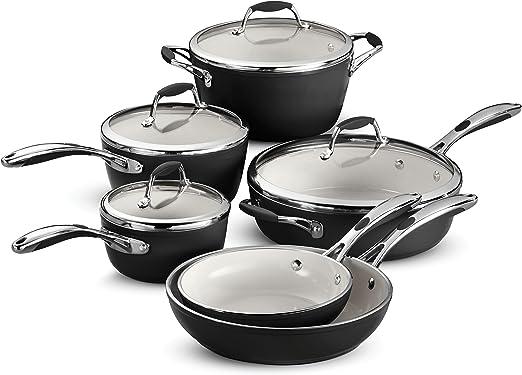 Amazon.com: Tramontina Ceramica Deluxe - Batería de cocina ...