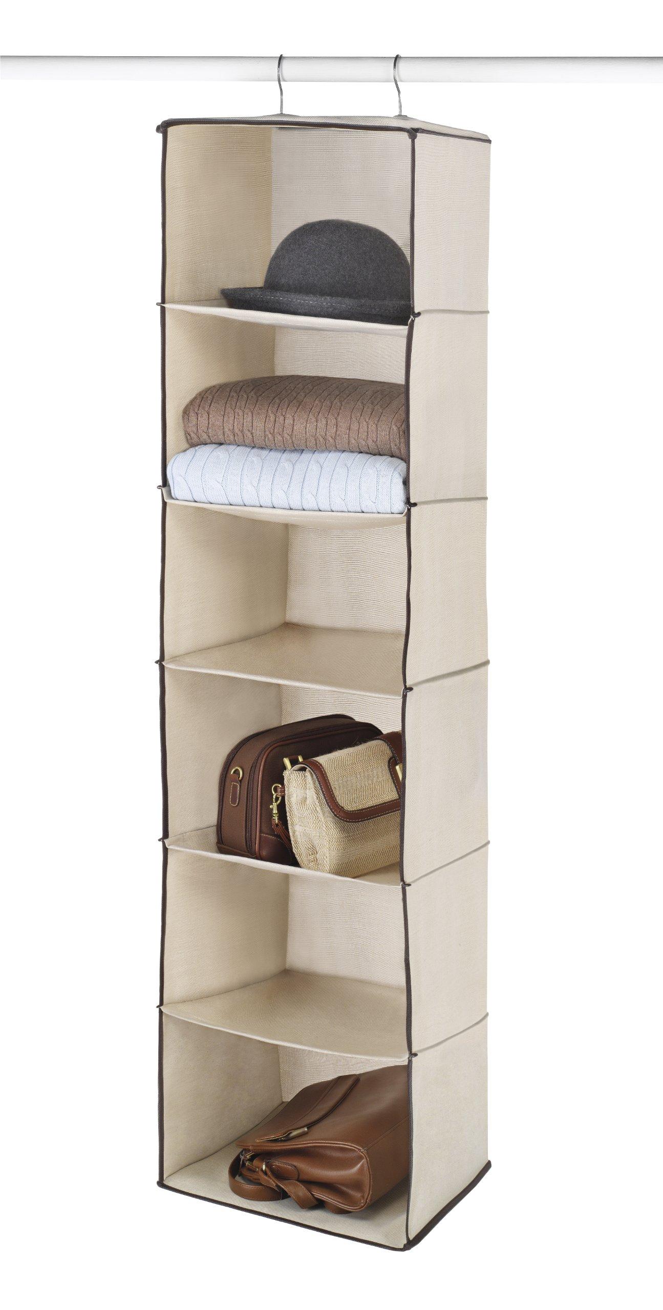 Whitmor 6 Shelf Hanging Accessory Bag