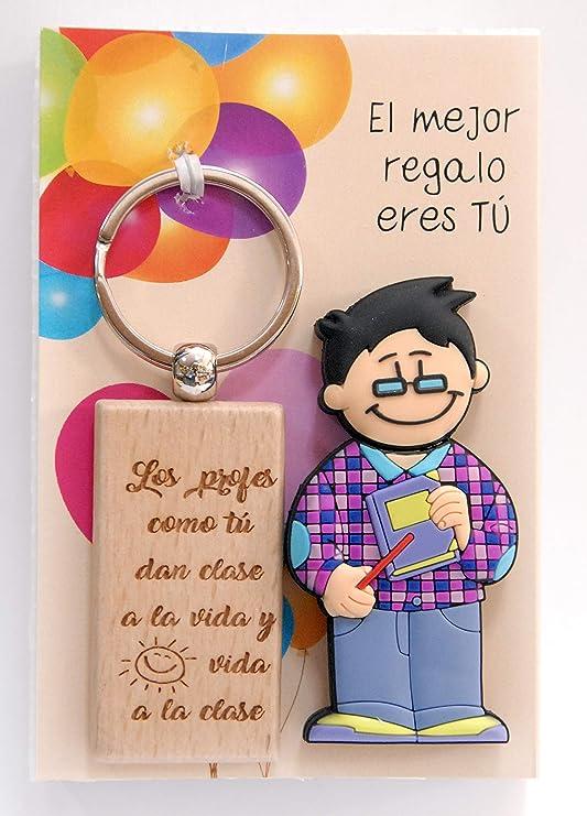 USB Profesor 16 GB. de Memoria con Llavero metálico Grabado con Leyenda en láser.: Amazon.es: Electrónica