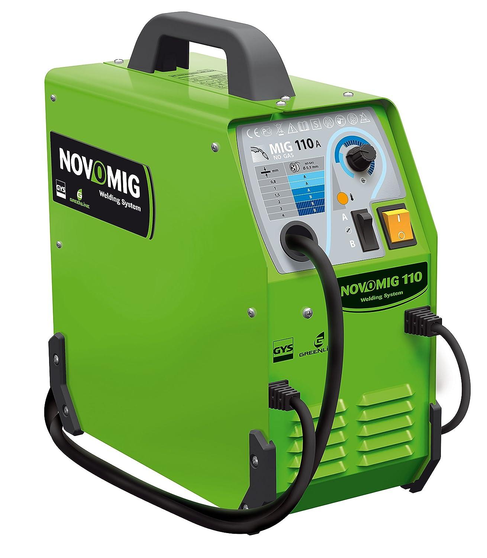 GYS NOVOMIG 110 - 110A Sin Gas Mig Soldador: Amazon.es: Industria, empresas y ciencia