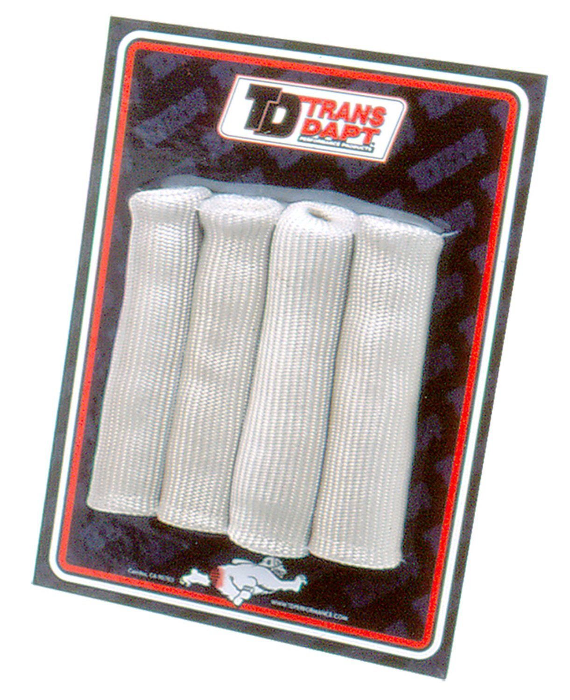 Trans-Dapt 8815 Silver Spark Plug Boot Protectors - Set of 4 Trans-Dapt Performance