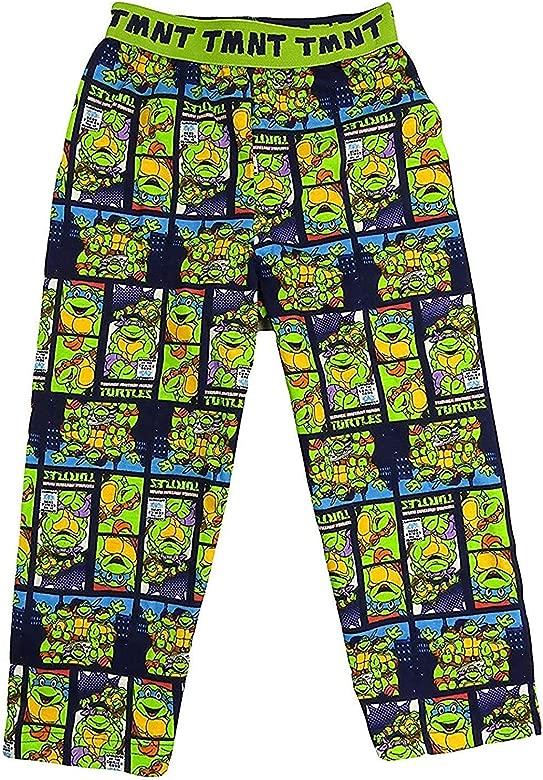 Boys TMNT PJ Lounge Pants TEENAGE MUTANT NINJA TURTLES Pyjama Bottoms 3-12 years