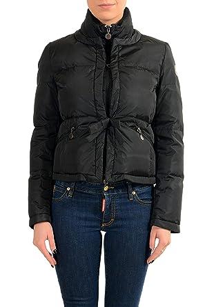 Moncler Womens ANCOLIE Black Down Jacket Coat Moncler Sz 1 ...