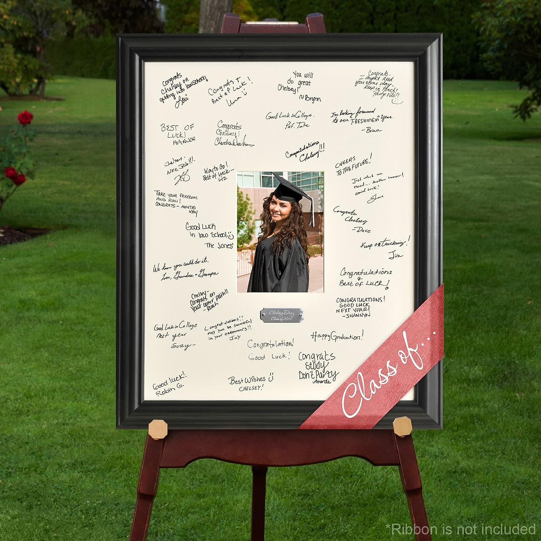 Personalized Anniversary Signature Frame JDS AZ909 ANNIV.