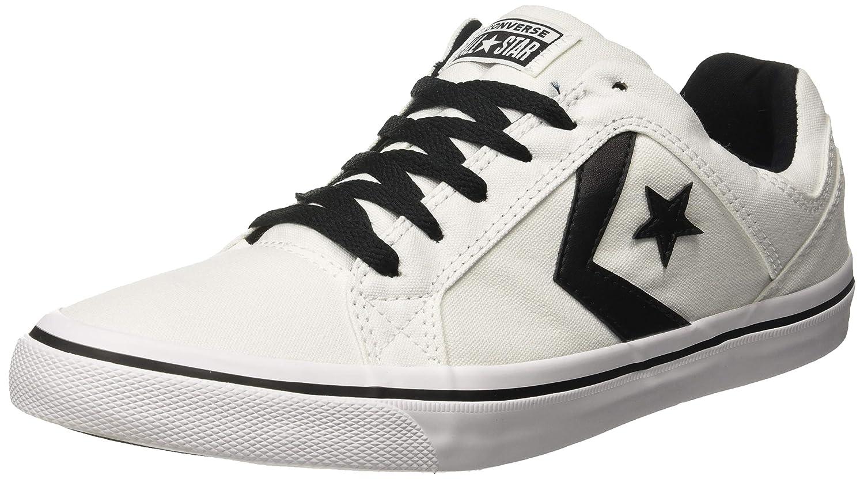 Buy Converse Men's White/Black Sneakers