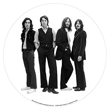 61b46d2b03de Image Unavailable. Image not available for. Color: Crosley AC1016A-SG  Turntable Slip Mat, The Beatles Fab Four