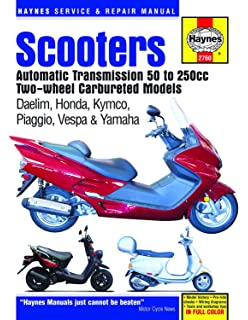 Amazon com: Haynes Chinese, Taiwanese and Korean Scooters