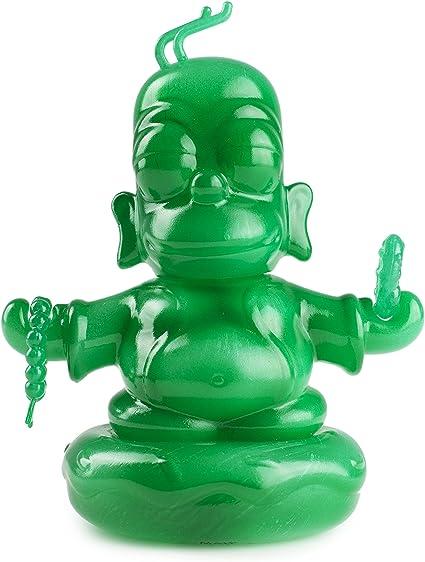 "Kidrobot /""IamRetro/"" Exclusive Homer Buddha in Jade The Simpsons Limited 3/"" Gem!"