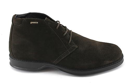 IGI & CO 86934 café Hombre marrón de Alta Ante de los Zapatos Cordones entrelazados Gore-Tex 41: Amazon.es: Zapatos y complementos