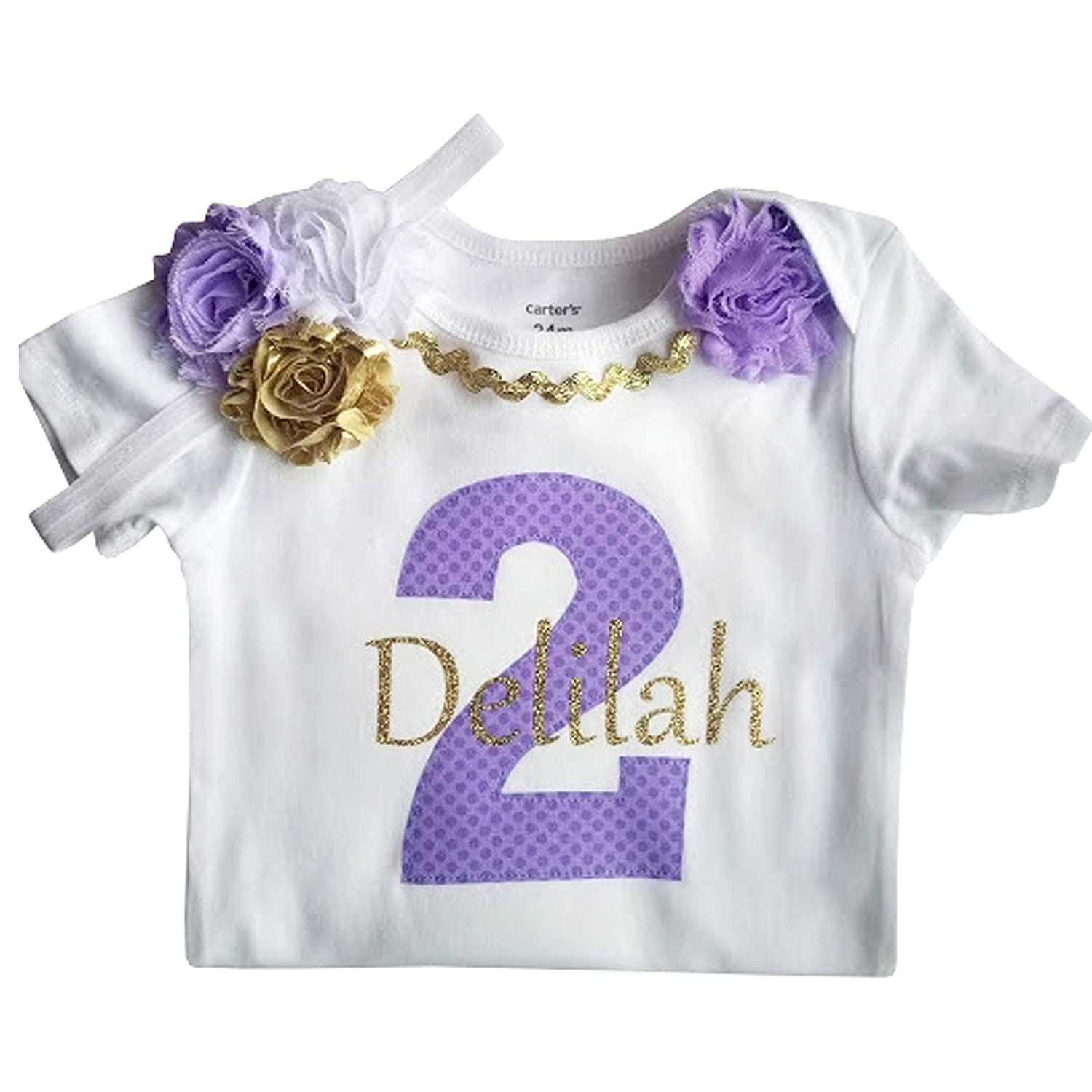 Amazon 2nd Birthday Outfit Baby Girl Tutu Personalized Clothing