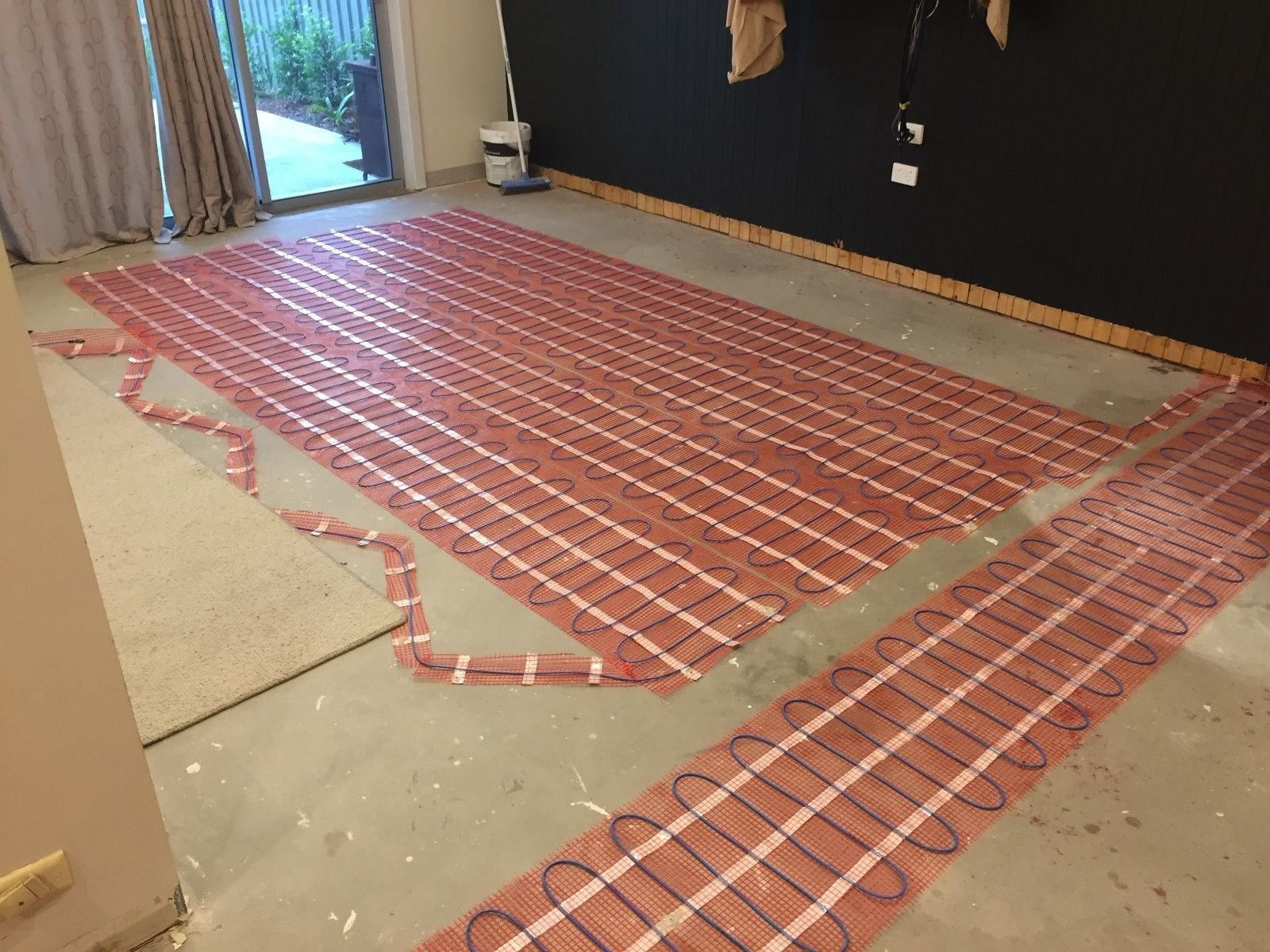50 sqft SENPHUS 120V Electric Radiant Underfloor Heating System Warm In Tiles Cable Self-adhesive Mat by Senphus (Image #7)