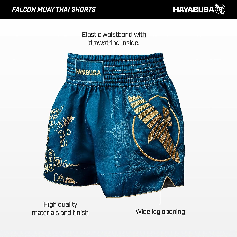 HAOXUAN Boxe Formation Fitness Muay Thai Pantalon Boxe Shorts Muay Thai Boxe Shorts Muay Thai Short Kickboxing V/êtements,4,M