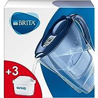 BRITA Marella waterfilterkan voor vermindering van chloor, kalk en onzuiverheden, Inclusief 3 x MAXTRA+ filterpatronen…