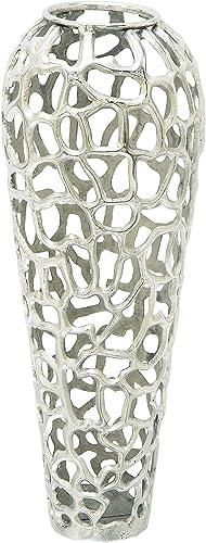 Deco 79 Aluminium Decorative Vase 12″ H-37665