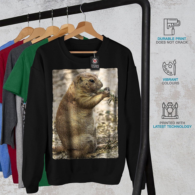 Nice Casual Jumper wellcoda Prairie Dog Wild Animal Mens Sweatshirt