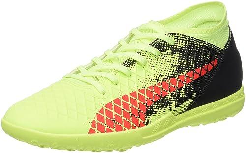 Puma Future 18.4 TT, Zapatillas de Fútbol para Hombre, Amarillo (Fizzy Yellow-Red Blast-Puma Black), 40 EU