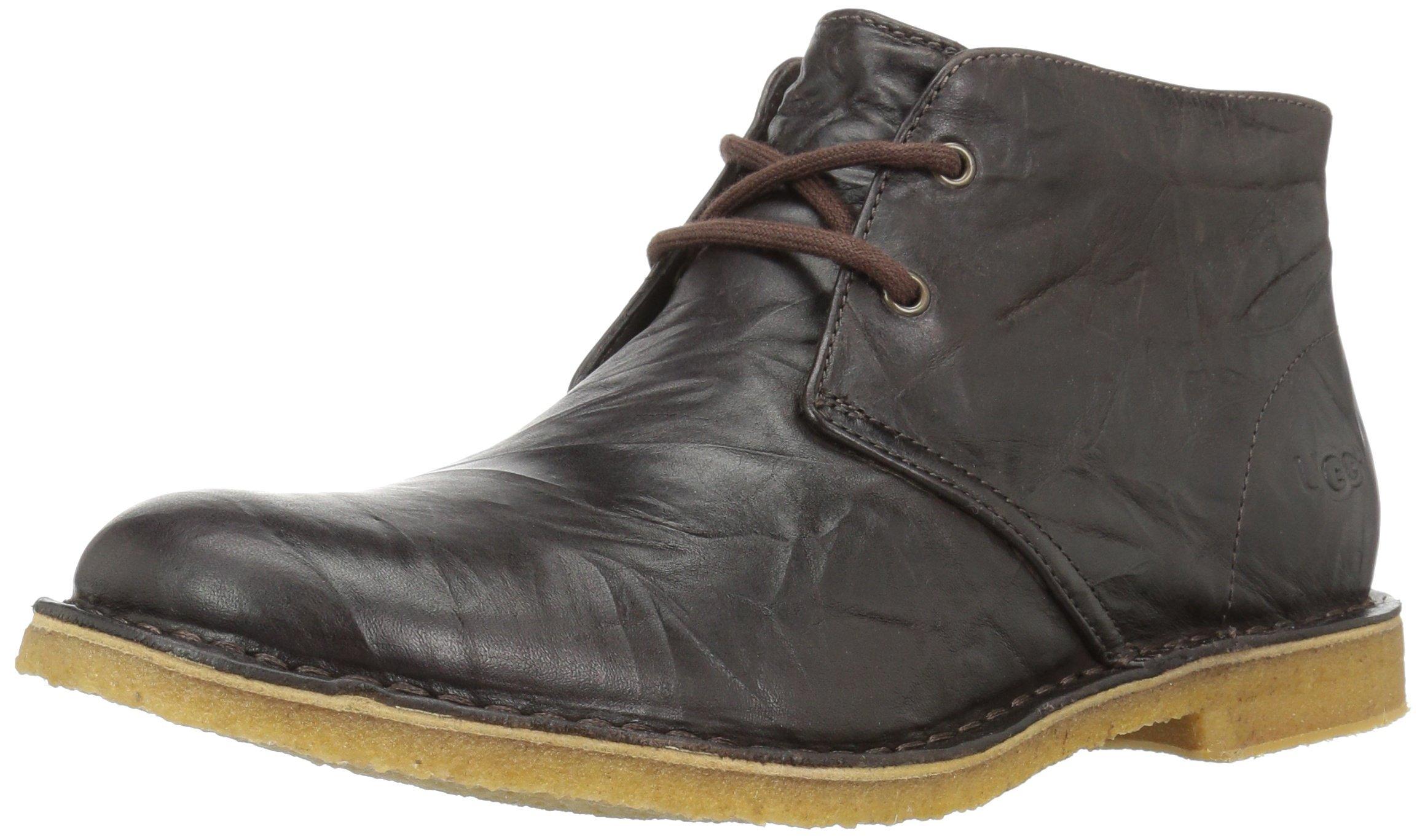 UGG Men's Leighton Chukka Boot, Chocolate, 11.5 US/11.5 M US