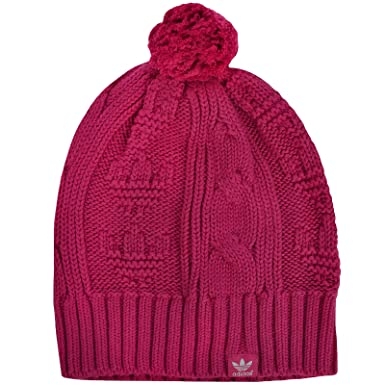 3047f1fb80a adidas Originals Womens Knitted Beanie - One Size  Amazon.co.uk  Clothing
