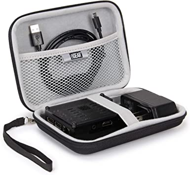 GP-CSSL Renewed Small Sabrent Universal Travel Case for GoPro or Small Electronics and Accessories