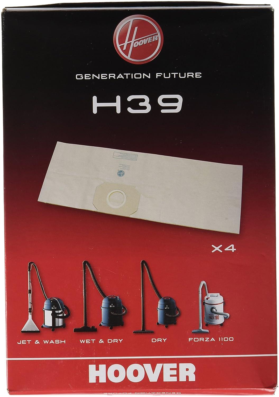 Hoover H39 Disposable Bags x4 - Sacchetti per Aspirapolvere 9189051