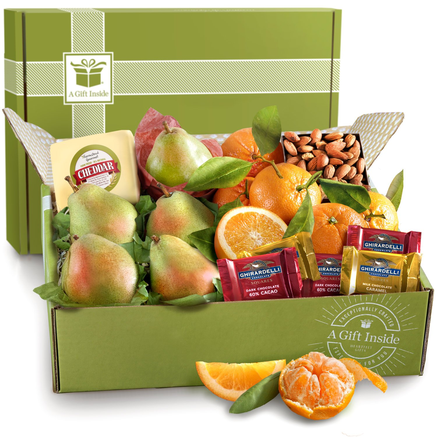 Harvest Favorites, Fruit and Gourmet Gift Box