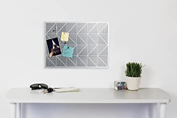 Umbra Trigon Bulletin Board, Nickel