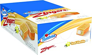 product image for Hostess Zingers, Iced Vanilla, 3.81 Ounce, 6 Count (Pack of 6)