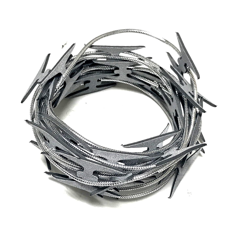 Amazon.com: NewRuleFX Actor-Safe Fake Prop Razor Wire 10\' Length ...
