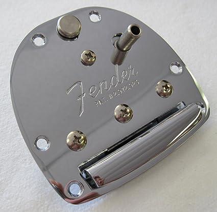 Genuine Fender JAPAN Jaguar//Jazzmaster® Vibrato Tailpiece w//Arm NEW FREE SHIP !