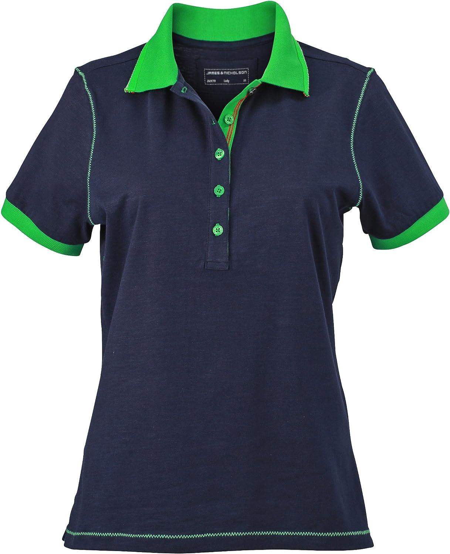 James /& Nicholson Damen Ladies/´Polo Poloshirt