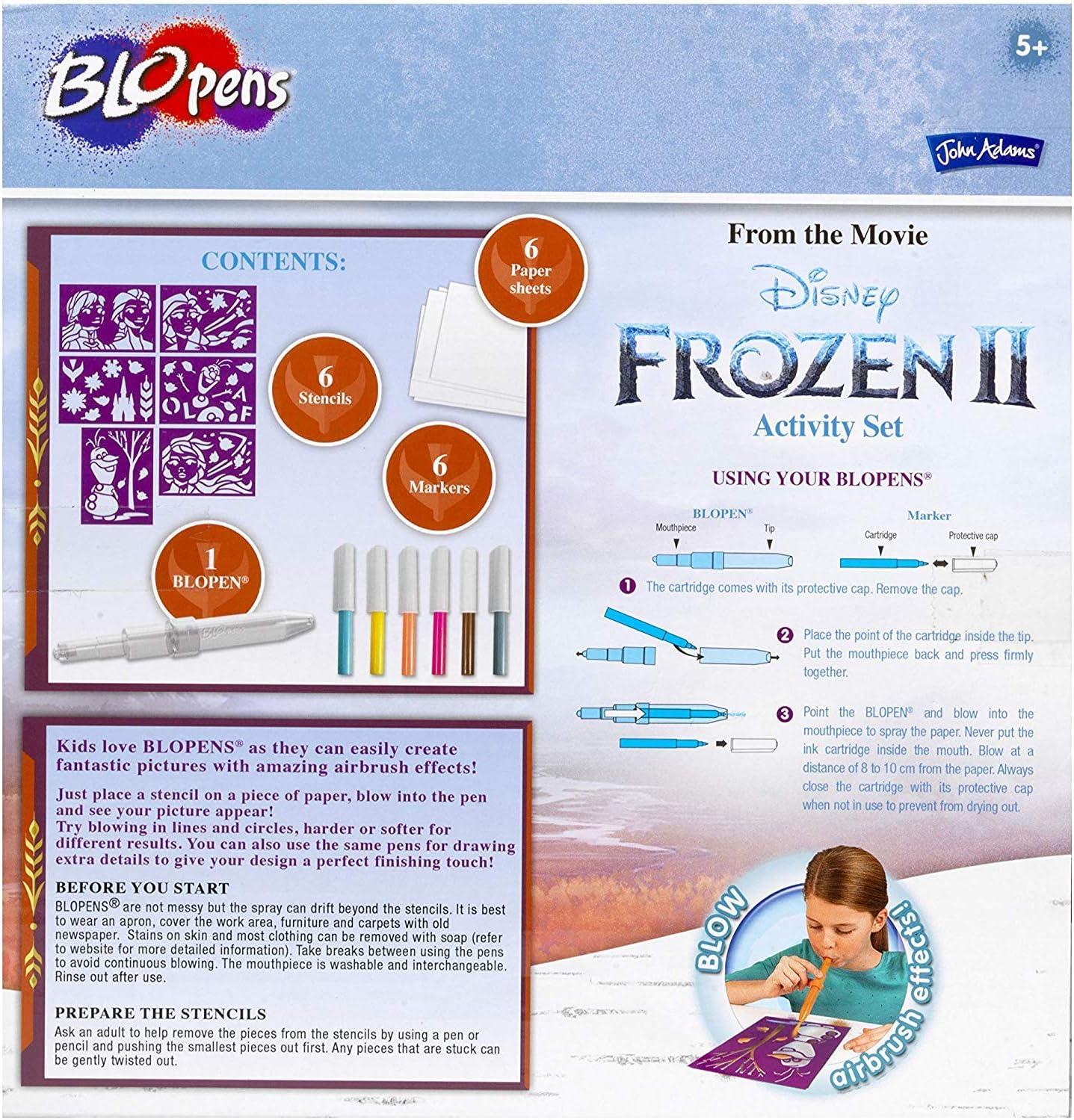 Activity Set John Adams 10800 Disney Frozen II BLOPENS R