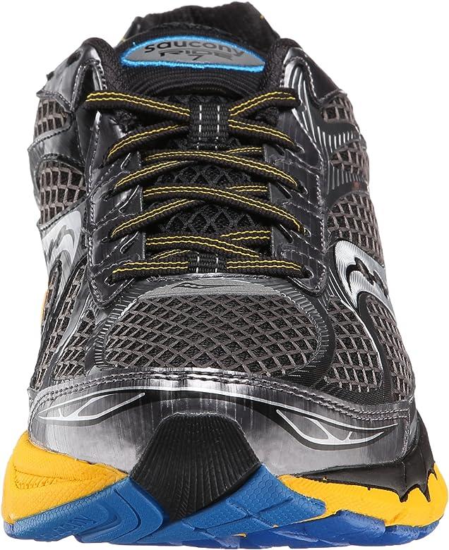 Saucony Ride 7 - Zapatos para Hombre, Color Yellow/Blue, Talla 42: Amazon.es: Zapatos y complementos