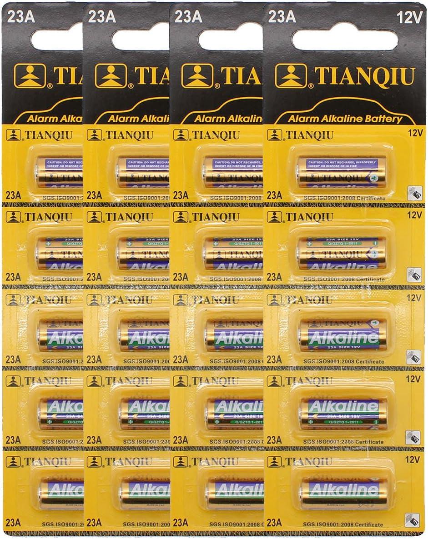 4 x Energizer A23 12V Batterie Knopfzelle MN21 L1028 LRV08 23GA 55mAh