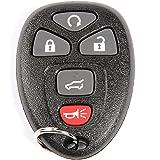 ACDelco 22692190 GM Original Equipment 4 Button Keyless Entry Remote Key Fob