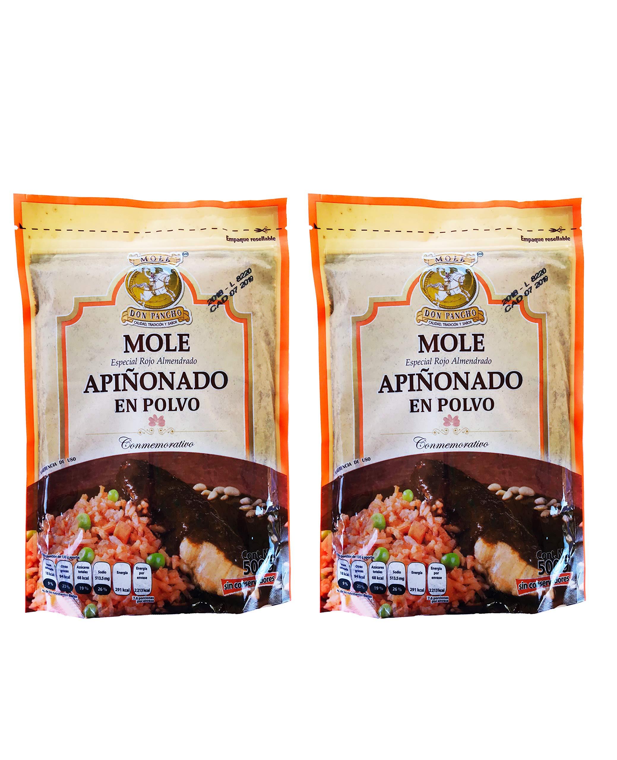 Mole Don Pacho Rojo Almendrado Apinonado (Almond Red Mole Mexican Sauce Pine Nut Touch)