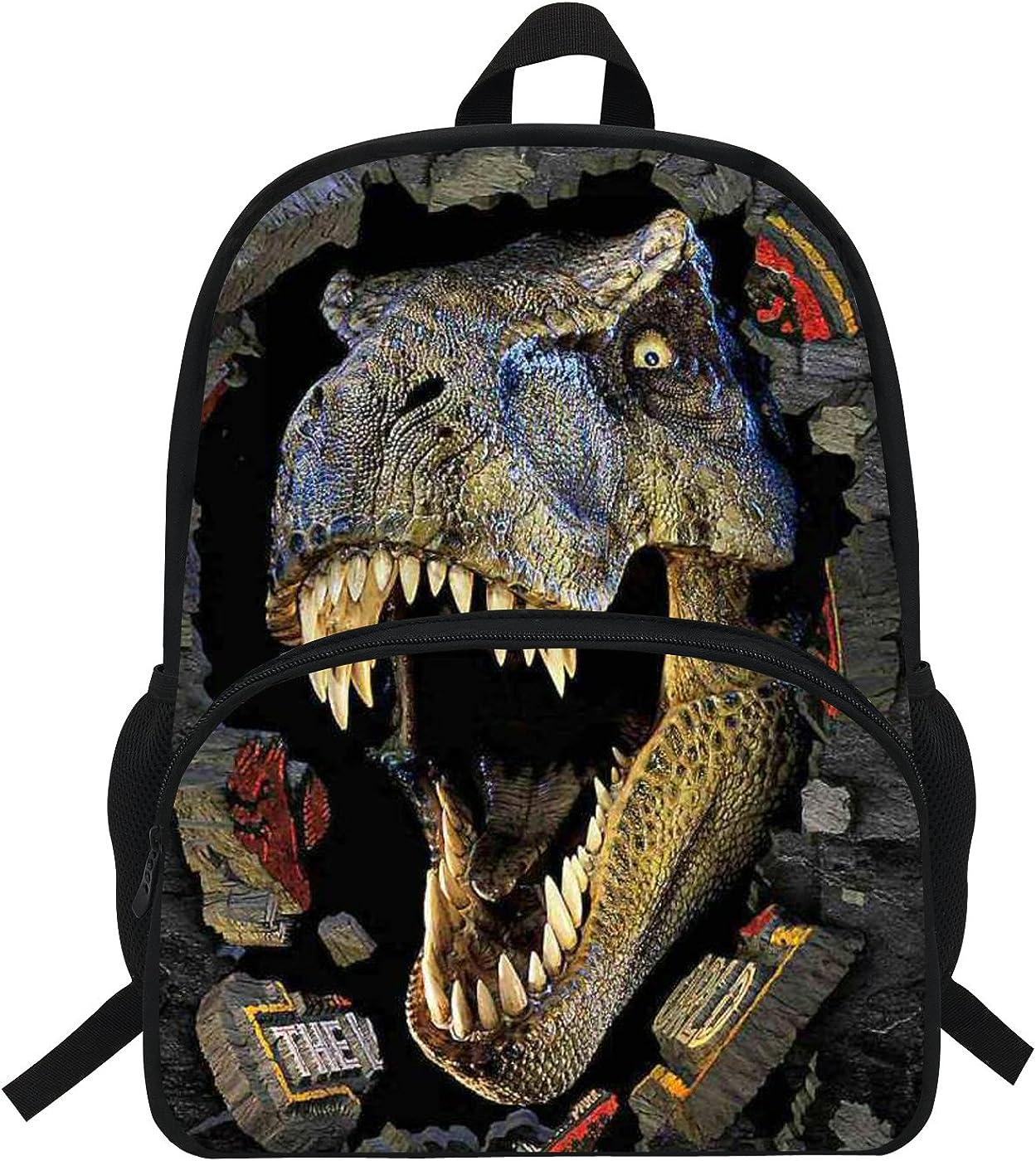 VEEWOW 16-Inch Popular Animal Backpack Horse Pattern Children School Bags